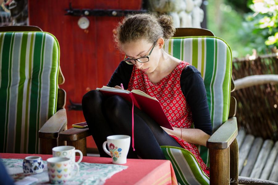 Przy pracy. fot. Marta Piskorska
