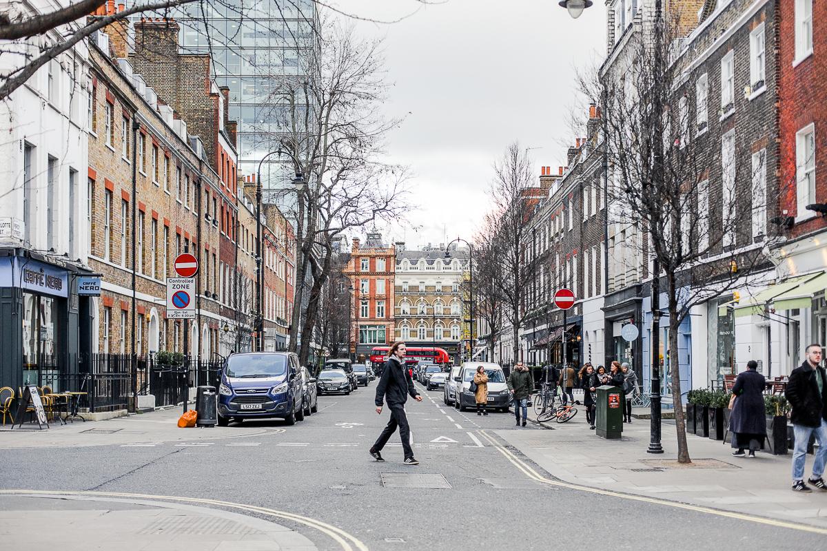 Londyn. Styczeń 2018. fot. Ewa Karaszkiewicz